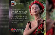 Video: Invita Ángela Aguilar a su nombramiento como, Representante Cultural y Artística de Zacatecas