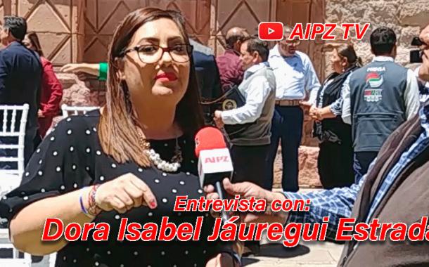 Video: Entrevista con Dora Isabel Jáuregui Estrada, Presidenta Municipal de Apozol