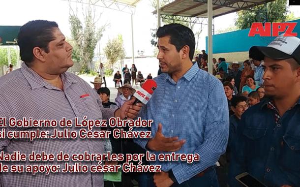 Entrevista: El Gobierno de López Obrador si cumple: Julio César Chávez