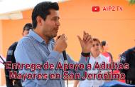 Video: Entrega de Apoyo a Adultos Mayores en San Jerónimo, Guadalupe