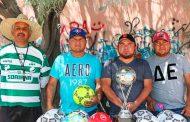Arranca en Mazapil Liga Municipal de Fútbol