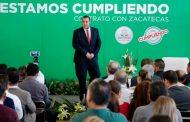 Cumple Gobernador Tello con obras y acciones compromisos del contrato verde: Secretario Luis Fernando Maldonado