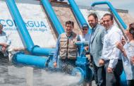 Con la inauguración de dos pozos, Gobernador lleva agua potable por primera vez a habitantes de Guadalupe
