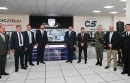 Coloca Tello a Zacatecas a la vanguardia en sistema de inteligencia para seguridad, al poner en marcha el C5