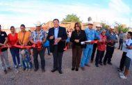 Inaugura Saúl Monreal obras para habitantes de colonias y comunidades