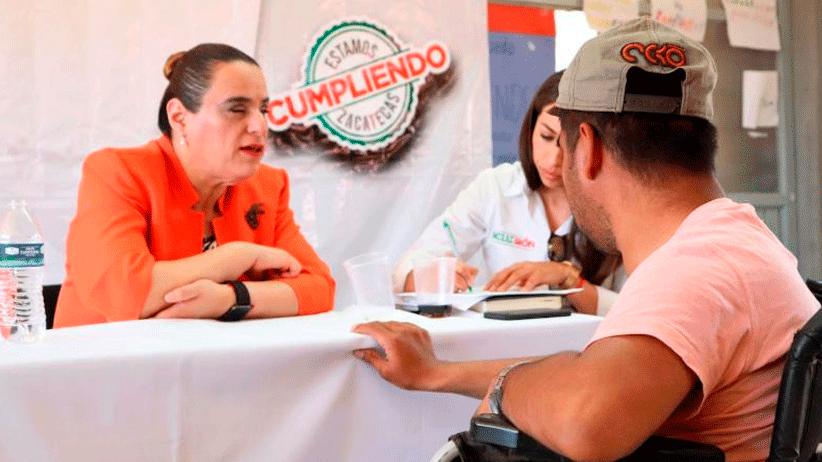 Instituto para la Inclusión escucha a ciudadanos de Sombrerete