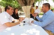 Atendió SAMA a 32 habitantes en Apozol en tercera audiencia pública