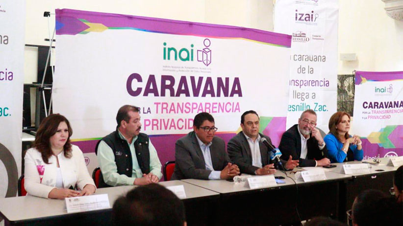 Clausuran Caravana en Fresnillo y presentan nueva imagen de Plataforma Nacional de Transparencia en Jerez