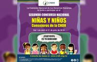 Convocan a niñas y niños a ser consejeros de la CNDH