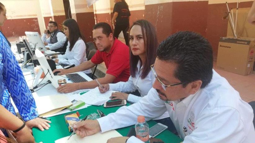 Atiende Coordinación General Jurídica a habitantes de Chalchihuites en audiencia pública