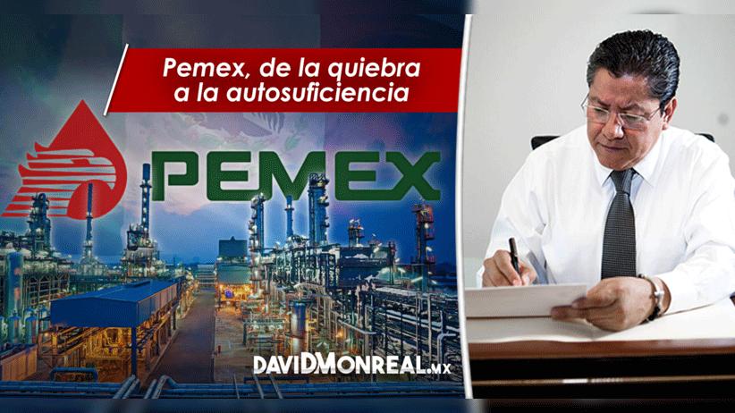 Pemex, de la quiebra a la autosuficiencia