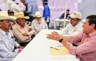 Atiende Secretario del Campo a habitantes del semidesierto