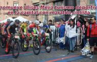 Video: Promueve Ulises Mejía turismo deportivo en la capital con maratón ciclista