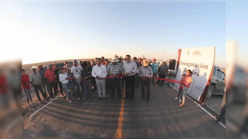 Invierten más de 10 mdp para beneficiar a habitantes de El Mezquite y Presa del Mezquite