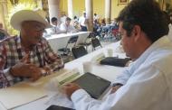 Atiende SAMA a gente del Teúl de González Ortega durante audiencia pública