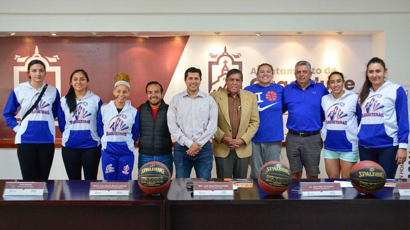 Barreteras de Guadalupe participarán en los playoffs de la liga mexicana de baloncesto profesional femenil 2019
