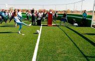 Inauguran cancha de fútbol rápido en COBAEZ de Noria de Ángeles