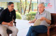 Acuerda COZCYT establecer clubes de ciencia y tecnología durante audiencia en Río Grande