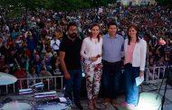 Ayuntamiento de Guadalupe celebró a las mamás, con un Jardín Juárez lleno