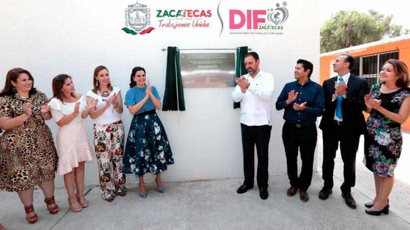 Inicia operaciones Centro de Atención para ciegos y Débiles Visuales en Zacatecas