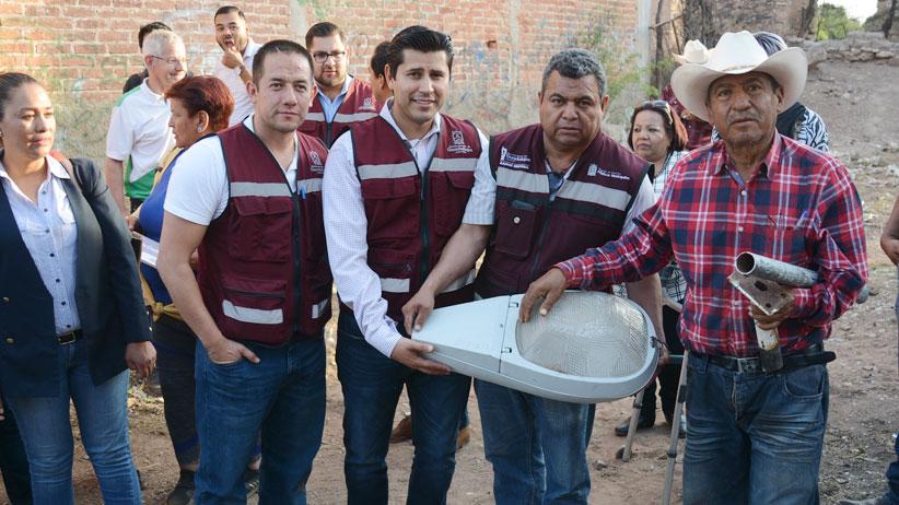 Guadalupe hasta tu casa también llega a las comunidades del Municipio