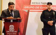 Zacatecas, entre los estados con menor incidencia delictiva: Secretario Ismael Camberos