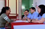 Atiende Secretario de Finanzas a más de 300 personas en audiencia pública en Teúl de González ortega