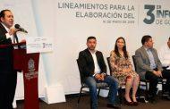 Comienzan trabajos para integrar Tercer Informe de Gobierno de Alejandro Tello
