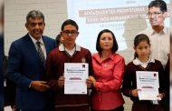 Nombra Ma. de la Luz Domínguez a los primeros Adolescentes Promotores de Derechos Humanos