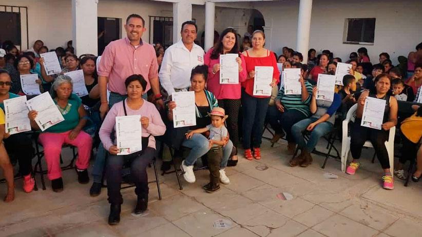 Celebra el PRI reunión de afiliación para mujeres en ciudad Cuauhtémoc