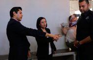 Revisa la Dra. Ma. de la Luz Domínguez los separos preventivos de Guadalupe