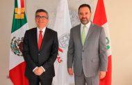 Inician Zacatecas y Perú cooperación bilaterial en proyectos de agricultura, minería y turismo