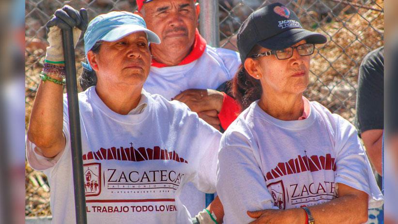 Continúa Ulises Mejía Mejorando espacios públicos de la mano de la ciudadanía