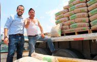 Entrega el Alcalde Ulises Mejía Haro apoyos de mejoramiento de vivienda a familias vulnerables