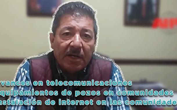 Video: Avances en carreteras, telecomunicaciones y electrificación de pozos