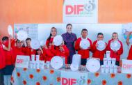 Inicia SEDIF reequipamiento de espacios de alimentación escolares y comunitarios