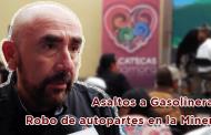 """Entrevista con Jorge Eduardo Muñoz Franco, """"Asaltos a Gasolineras y Robo de autopartes en la Minera"""""""
