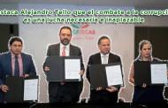 Video: Destaca Alejandro Tello que el combate a la corrupción es una lucha necesaria e inaplazable