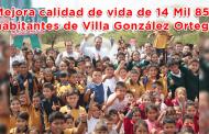 Video: Mejora calidad de vida de 14 Mil 852 habitantes de Villa González Ortega
