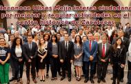 Video: Reconoce Ulises Mejía interés ciudadano por mejorar y regular actividades en el centro de Zacatecas