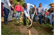 Inicia la plantación de mil 300 árboles en deportiva solidaridad para celebrar el Día Mundial del Medio Ambiente