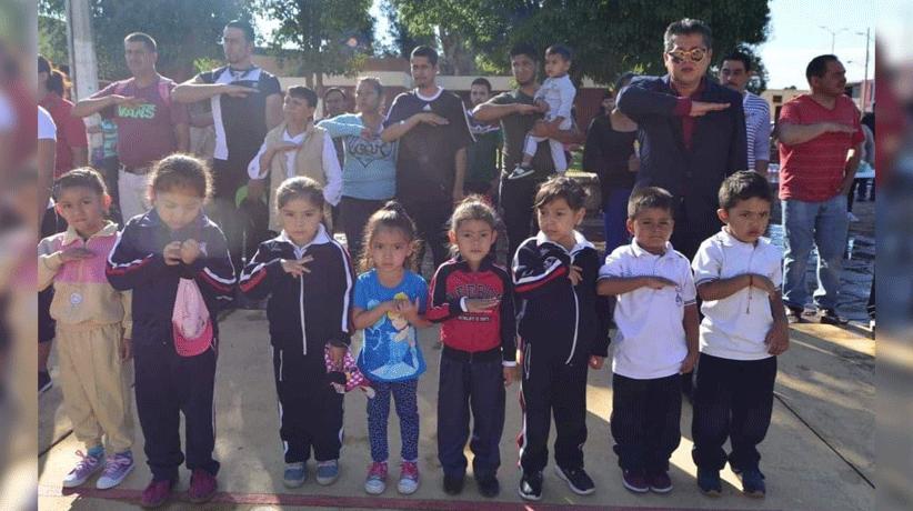 En los 9 meses de administración, se han apoyado a más de 120 escuelas, con el fin de fortalecer la educación