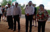 Video: Construccion con concreto hidráulico en Villa González Ortega