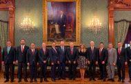 Gobernadores se reúnen con el Presidente de la República, Andrés Manuel López Obrador