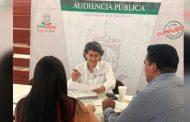 Atiende secretaria de educación a ciudadanos de Miguel Auza en audiencia pública