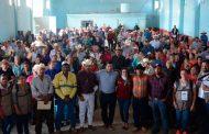 Entrega Julio César Chávez auditorio renovado en Zóquite