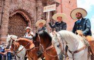 Participa Ulises Mejía  en festejo por 105 Aniversario de la Toma de Zacatecas