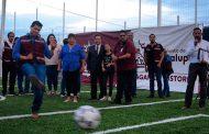 Vecinos de la colonia Hípico agradecen al Alcalde de Guadalupe por construcción de Parque Recreativo tras 15 años en el olvido