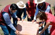 Julio César Chávez pone primera piedra para edificar educación de calidad en Guadalupe