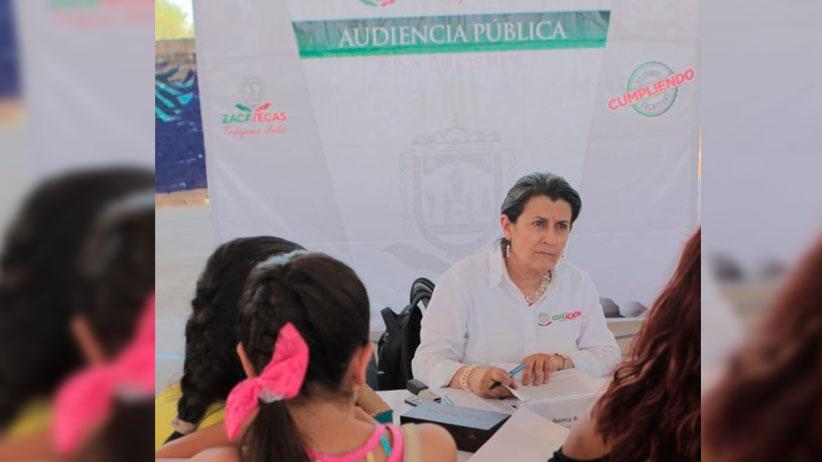 Encabeza Secretaría de Educación audiencia pública en municipios del Sur zacatecano